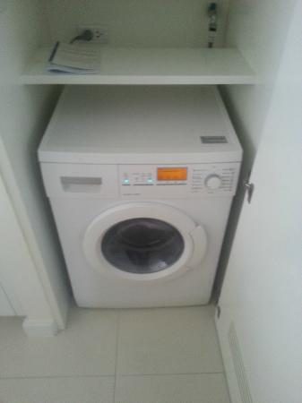 Phachara Suites: The Holy Grail for Travellers - Washing Machine Executive Studio