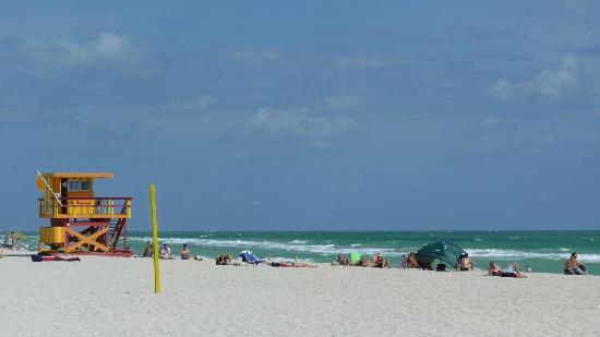Marriott Stanton South Beach: Strand von Miami Beach 