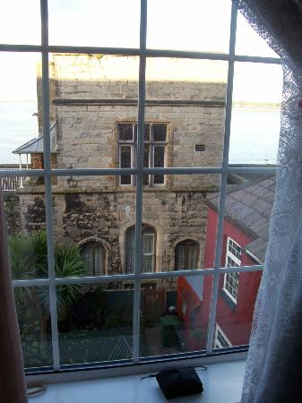 Caer Menai Guest House / Bed and Breakfast: historic building at the bottom of the garden