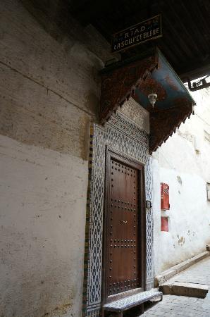 Riad La Source Bleue : Entree