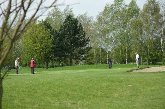 Melbourn, UK: The 5th green