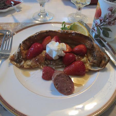 Joseph Mattey House: Dutch pancakes