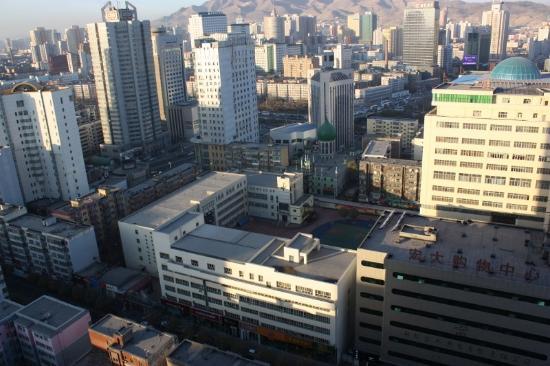 Orient Dynasty Hotel: Вид из окна
