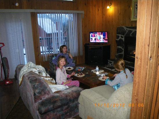 Banff Gate Mountain Resort: living room