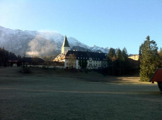 Schloss Elmau: Aussenansicht