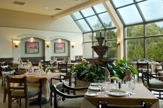 Basil's Bistro: Enjoy a business lunch or a romantic dinner at Basil's