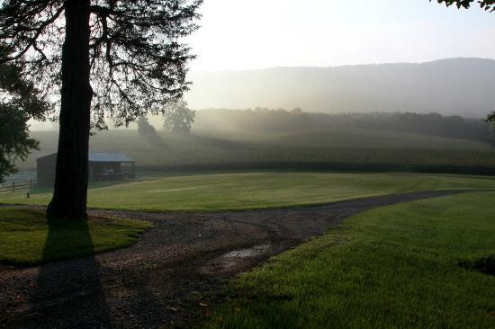 Rosendale Inn Bed and Breakfast: Idyllic setting