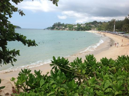 The Shore at Katathani: View of Kata Noi beach from The Shore, Katathani