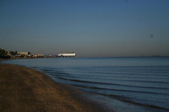Cleethorpes, UK: View front the beach