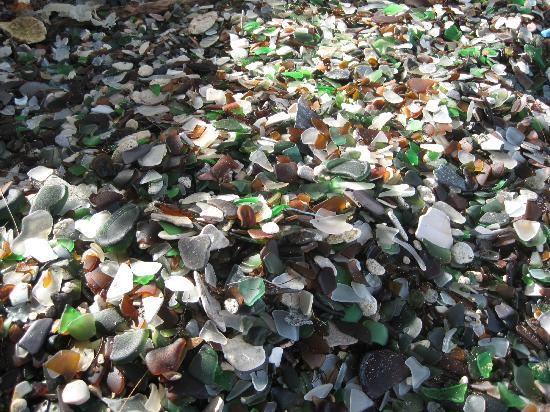 Гамильтон, Бермуды: Abundant sea glass