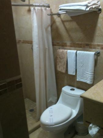 Hotel Casa Las Mercedes: baño