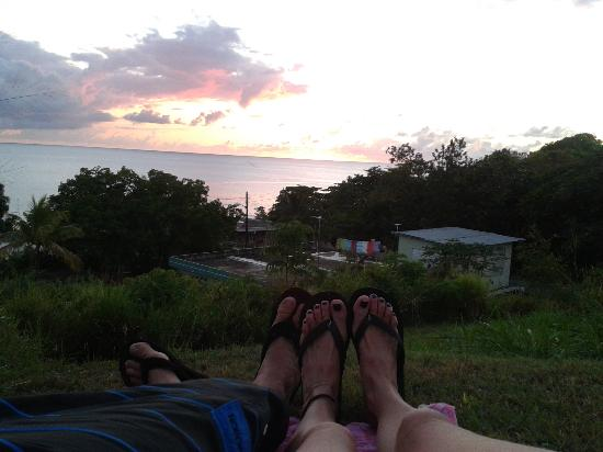 EV's Vacation Rentals Rincon Puerto Rico: sunsets and flip flops at Evs