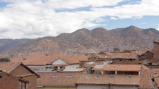 Amaru Hostal: Otra muestra mas de las increibles vistas desde las galerias del hotel