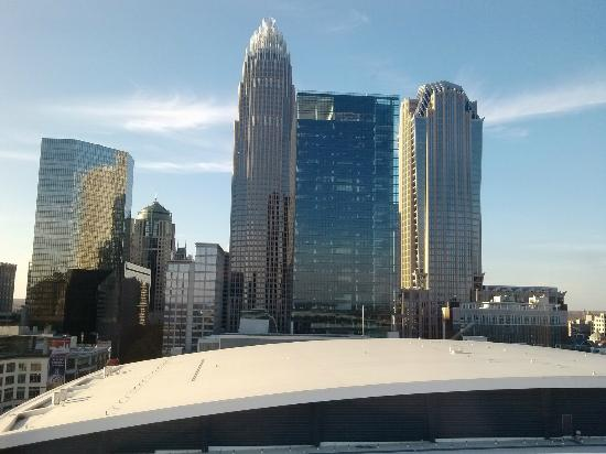 View From The Pool Picture Of Hyatt House Charlotte