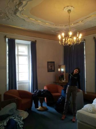 Hotel Pod Vezi: O quarto do hotel Pod Vezi: simplesmente fantástico