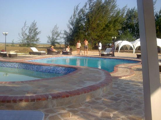 Quelimane, Мозамбик: the swimming pool
