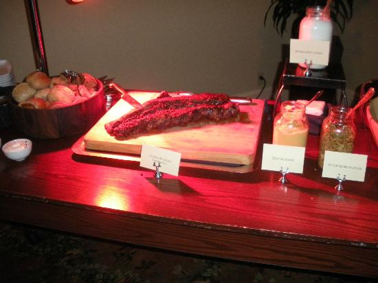 Hyatt Regency Hill Country Resort and Spa: Beef Carving Station