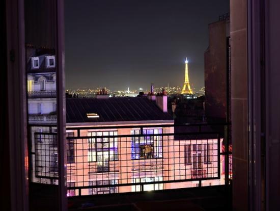 Vue De Ma Fenetre Picture Of Hotel Le Chat Noir Paris