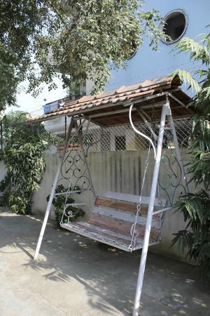 Prem Abhilasha: Hotel backyard
