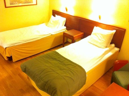 Scandic Vasteras: Beds