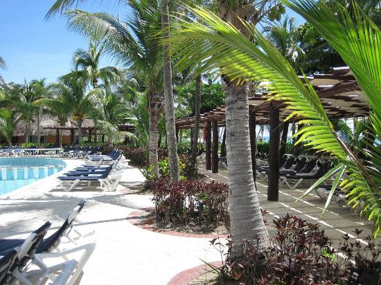Barcelo Maya Colonial: bord de piscine section Beach