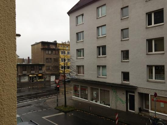 Hotel Granus: view from the room window