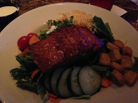 The Smokehouse: delicious moist salmon cooked to perfection!