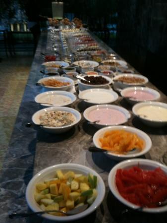 The Mandala Hotel: scelta per colazione