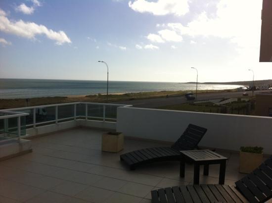 Apart Hotel Beira Mar: vista do terraço