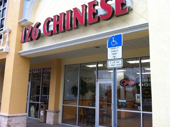 126 Chinese Restaurant Exterior