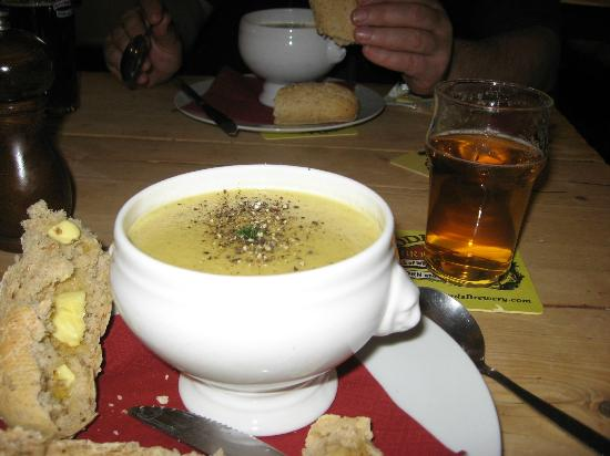 Red Lion: Curried Parsnip Soup