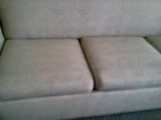 Worn couch - Picture of Varsity Clubs Of America - Tucson, Tucson ...