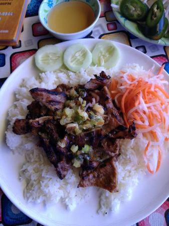 Taste of Vietnam: Grilled Pork (#30) for $7