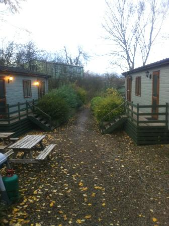Lindale Holiday Park: Neighbouring Lodges