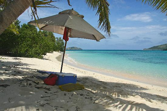 Yasawa Island Resort and Spa: One of our private picnic spots