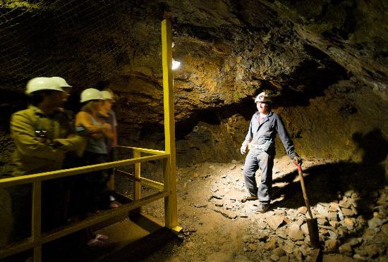 Squamish, แคนาดา: Britannia Mine Museum