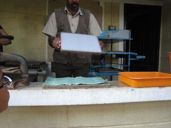 Spice Village: paper making