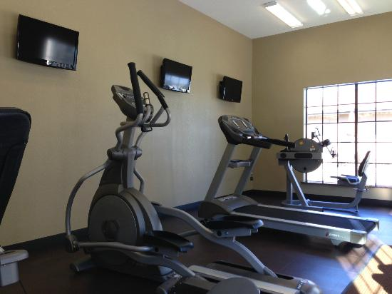Microtel Inn & Suites by Wyndham Round Rock: gym