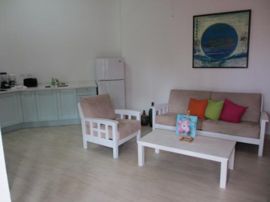 Boardwalk Hotel Aruba: mooie ruime kamers! interieur wordt nog vernieuwd!