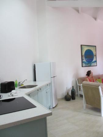 Boardwalk Hotel Aruba: ruime keuken