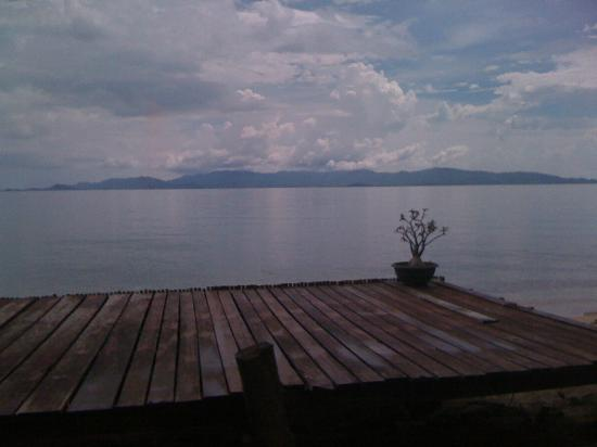 Zoe Frenchy Resort: vue sur Koh Samui