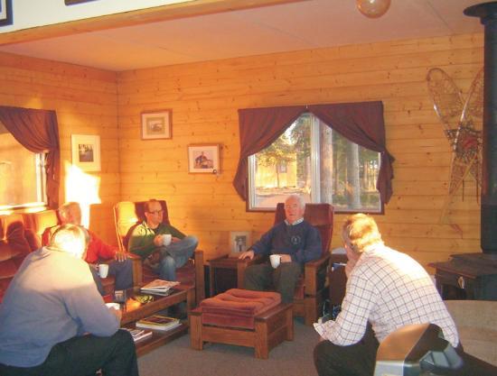 Yukon, Canada: Inside main lodge