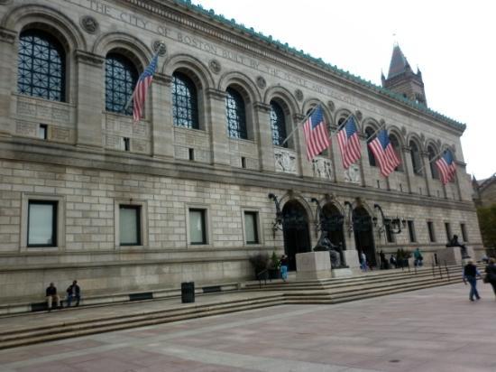 Copley Square: Boston Public Library