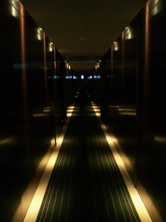 Palace Hotel Monte Real: Corredor para os quartos