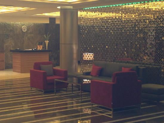 Radisson Blu Hotel Lusaka: Reception area