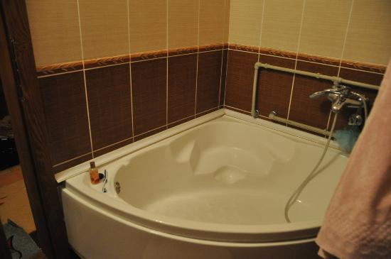 Zabljak City Center Apartments: Bathroom (big Hot Tub)