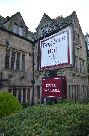 Bagdale Hall Hotel and Restaurant: On Bagdale