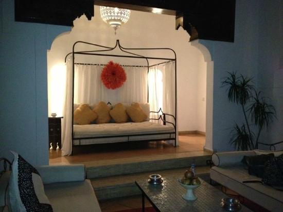 Riad Charai: Alcove in pool area
