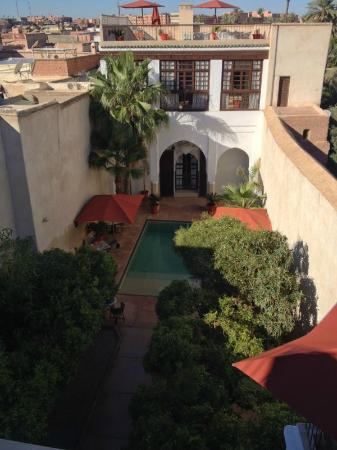 Riad Charai: View from the roof.