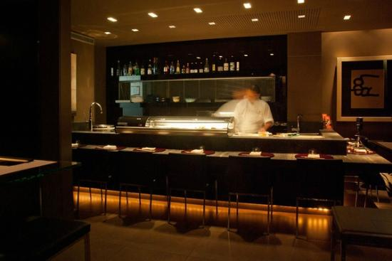 Barra De Sushi Fotograf A De Restaurante Zenart M Laga